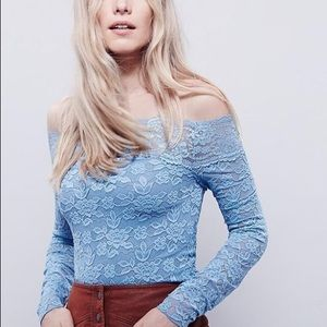 Intimately Free people Blue Lace Small too